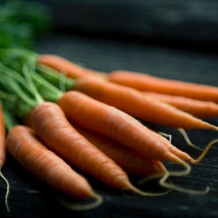 przekąska z marchewki