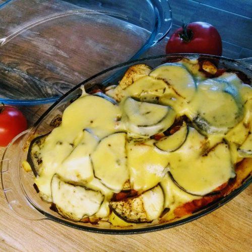 zapiekanka i pomidory