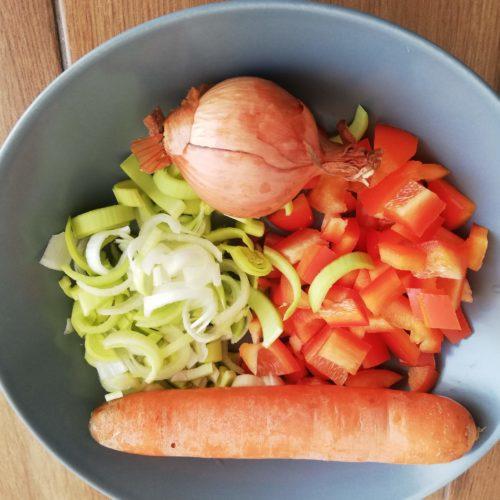 warzywka do indyka po tajsku