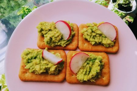 drugie śniadanie z awokado