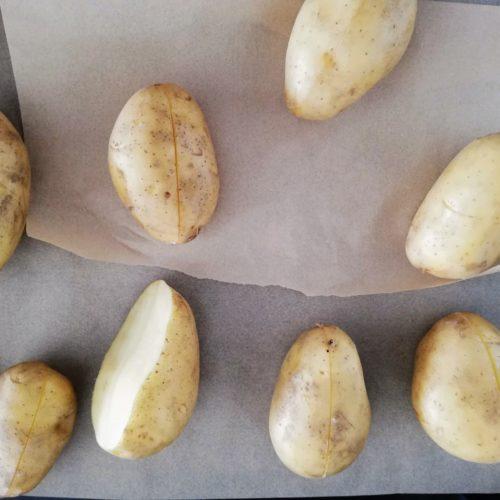 ziemniaki przed faszerowaniem