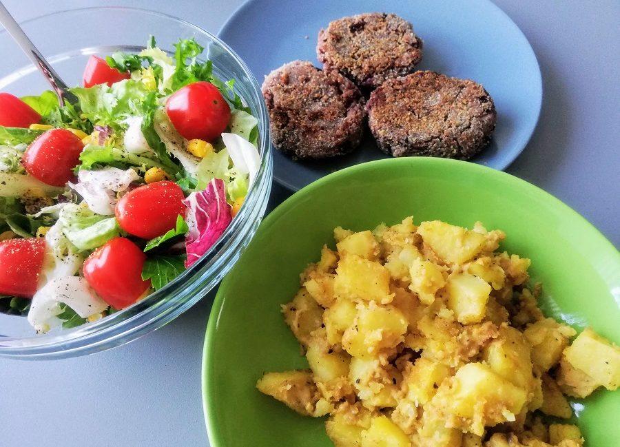 ziemniaki z masłem orzechowym