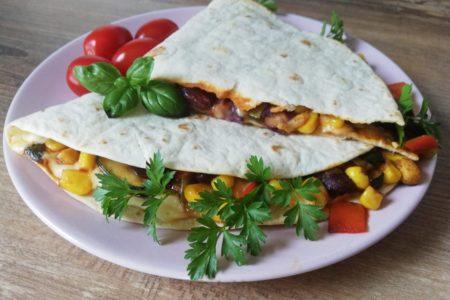 tortilla meksykanska wegetarianska
